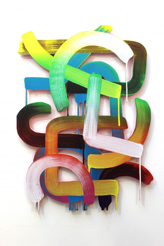 Ralph Anderson_Untitled Drip-Pop Painting II_2014_Acrylic on Plywood_32x24.jpg