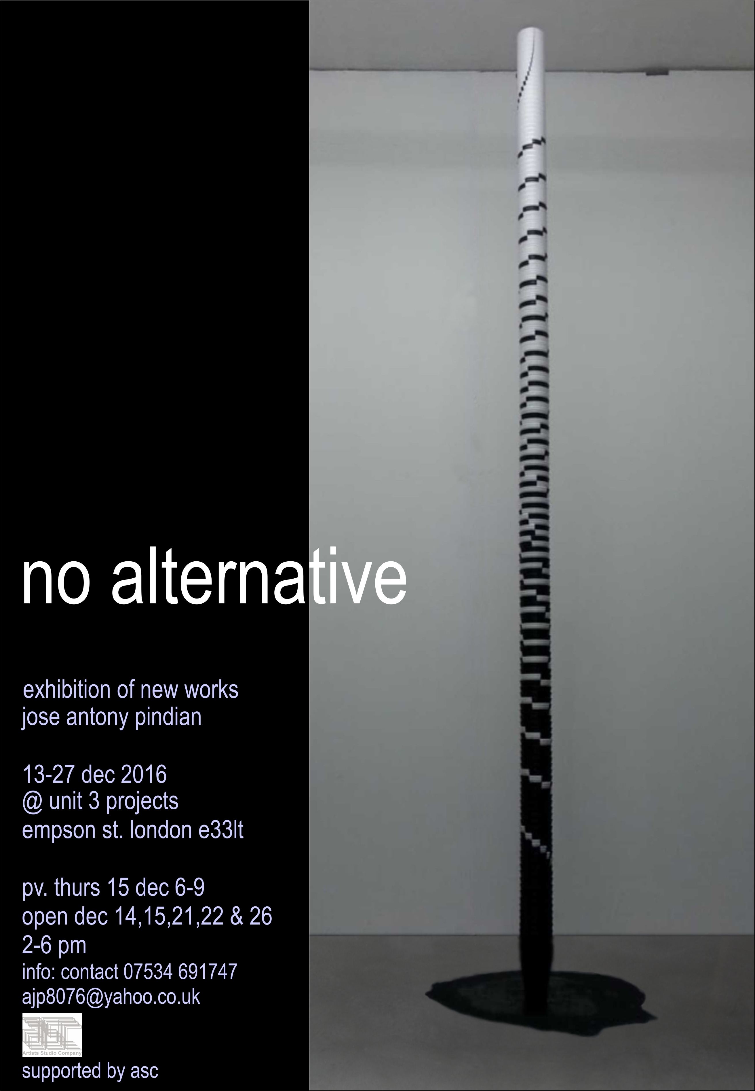 No Alternative | Jose Antony Pindian